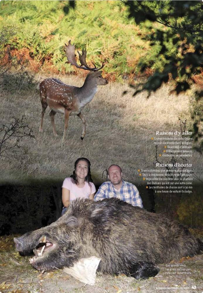 Voyages de Chasse Bulgaria #49/2016 - Safari Season